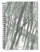 Winter Road Dream Spiral Notebook