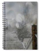 Winter Rooftops Spiral Notebook