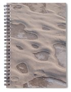 Winter Sand Art Spiral Notebook