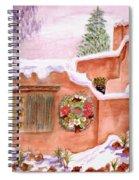 Winter Season Adobe Spiral Notebook