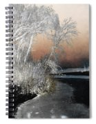Winter Shroud Spiral Notebook