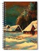 Winter Silence Spiral Notebook