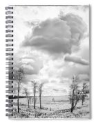 Winter Sky Drama Spiral Notebook