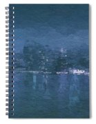 Winter Skyline Spiral Notebook