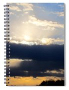 Winter Skyscape Spiral Notebook
