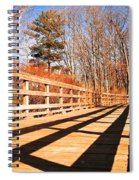 Winter Spring Crossover Spiral Notebook
