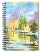 Winter Stillness Spiral Notebook