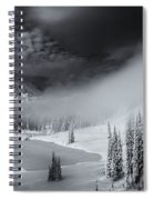 Winter Storm Clears Spiral Notebook