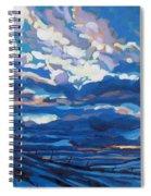 Winter Stratocumulus Spiral Notebook