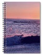 Winter Sunset In Laguna Beach IIi Spiral Notebook