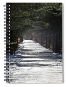 Winter Trail Spiral Notebook