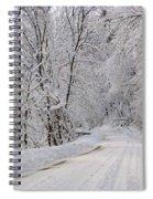 Winter Travel Spiral Notebook
