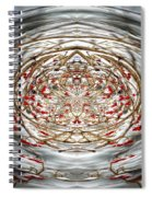 Winter Versus Spring Thaw Spiral Notebook