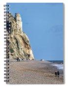 Winter Walking At Branscombe Spiral Notebook