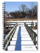 Winter Walkway Spiral Notebook
