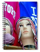 Winter Warmth Spiral Notebook