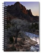 Winter Watchman Spiral Notebook
