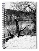 Winter Waterscape Spiral Notebook