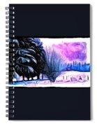 Winter Whimsey  Spiral Notebook