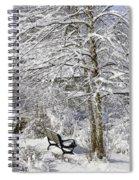 Winter Wonderland 9 Spiral Notebook