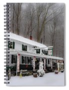Winter Wonderland At The Valley Green Inn Spiral Notebook