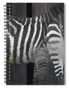 Winter Zebras Spiral Notebook