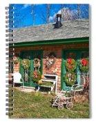 Winterberry Farm Stand Spiral Notebook