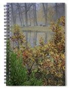Winterberry In Fog Spiral Notebook