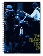 Winterland Blues With The Marshall Tucker Band 1976 Spiral Notebook