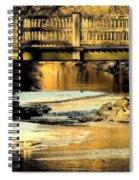 Winterlude At Robin Hood Dell Spiral Notebook