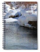 Winter's Blanket Spiral Notebook