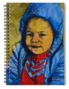 Winter's Child Spiral Notebook