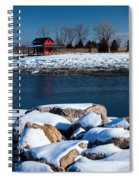 Winters Cove Spiral Notebook