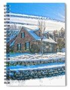 Winters Day Photoart 6 Spiral Notebook