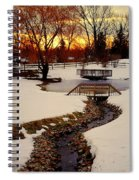 Winters Exit Spiral Notebook