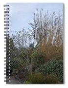 Winters Garden In Seattle  Spiral Notebook