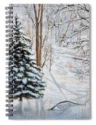 Winter's Peace Spiral Notebook