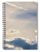 Winter's Streamlined Skies Spiral Notebook