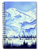 Winter's White Blanket Spiral Notebook