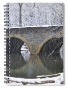 Wintertime At Bells Mill Road Spiral Notebook