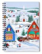 Wintertime In Sugarcreek Spiral Notebook