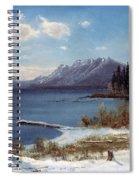 Wintertime Lake Tahoe In Winter The Sierra Nevada California Spiral Notebook