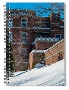 Wintery Lambert Castle Spiral Notebook