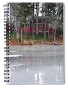 Wintery Reflection Spiral Notebook