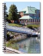 Winthrop Harbor Shore Spiral Notebook