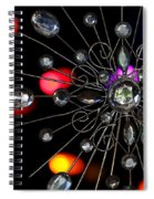 Wire And Glass Ornament Spiral Notebook
