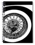 Wire Wheel Spiral Notebook