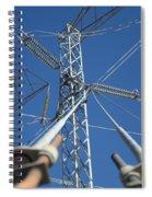 Wires Spiral Notebook