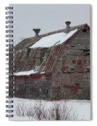 Wisconsin Barn Spiral Notebook