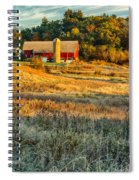 Wisconsin - Country Morning Spiral Notebook